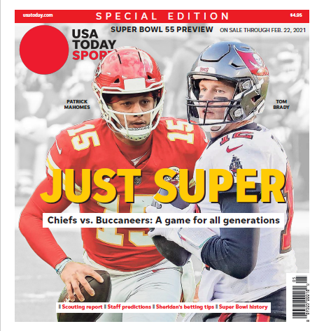 USA TODAY Sports 2021 Super Bowl Preview Special Edition MAIN