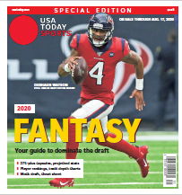 USA TODAY Sports Special Edition - 2020 Fantasy Football  - Texans Cover THUMBNAIL