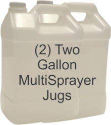 Fiber Cop (Two 2-gal multisprayer jugs)