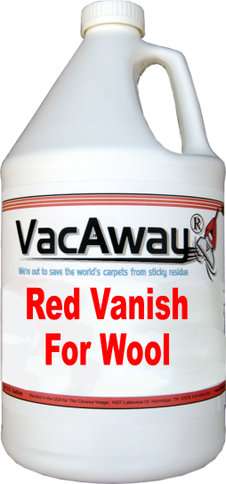 Red Vanish for Wool Gallons