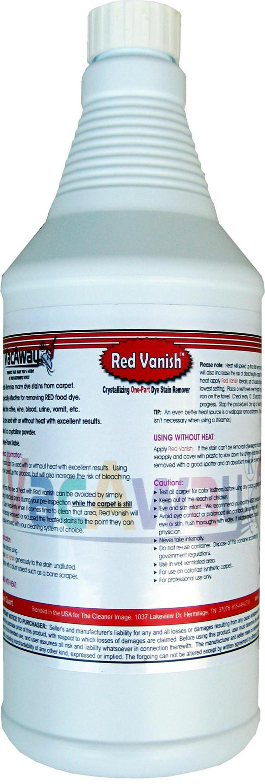 Red Vanish Quarts The Cleaner Image Vacaway Products