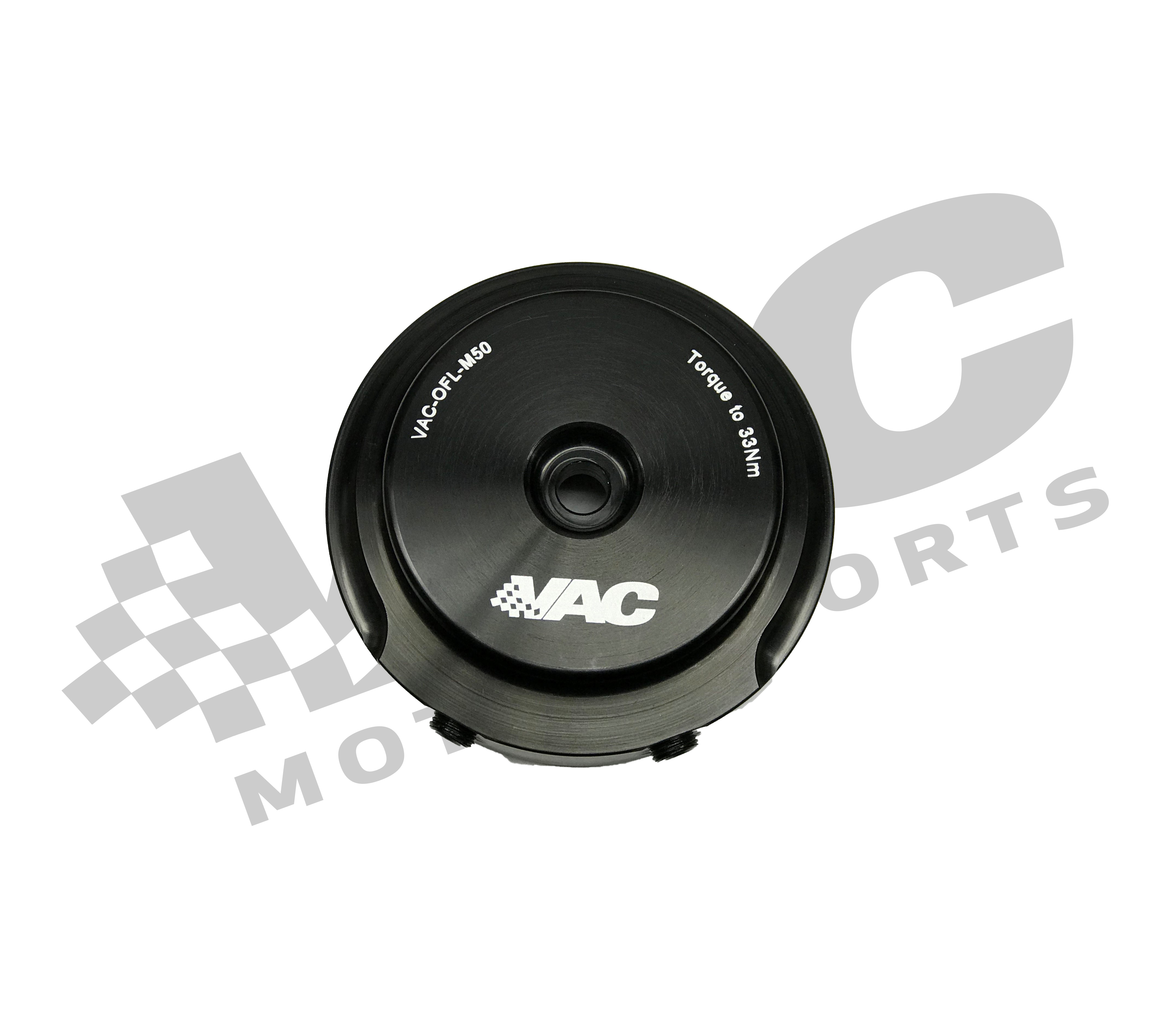 VAC Billet Oil Filter Lid w/Sensor Ports for BMW M50/M52/S50/S52/S50B30/S50B32/S54 SWATCH