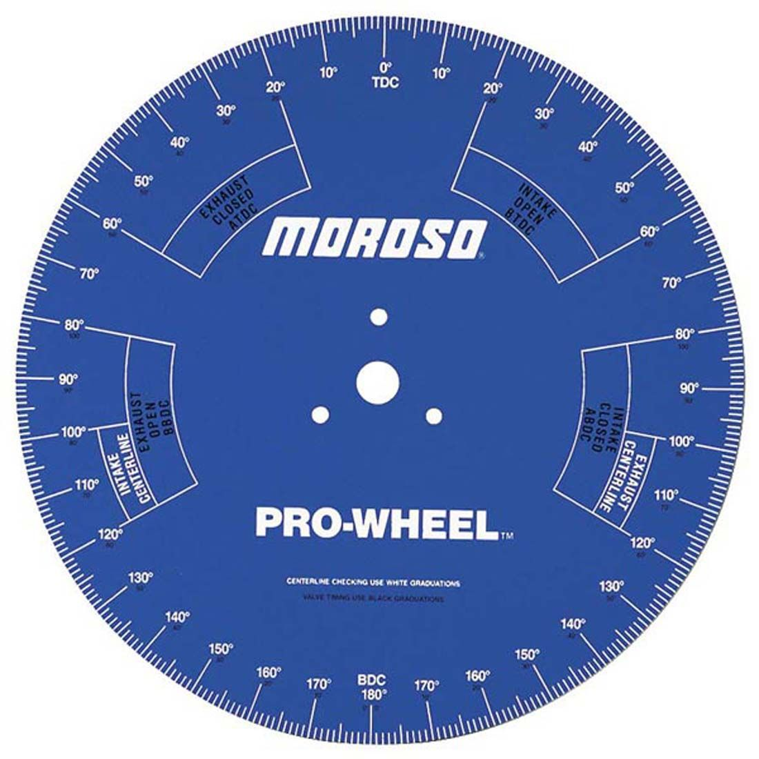 Moroso -  18'' Professional Degree Wheel (for engine assembly and cam timing) THUMBNAIL