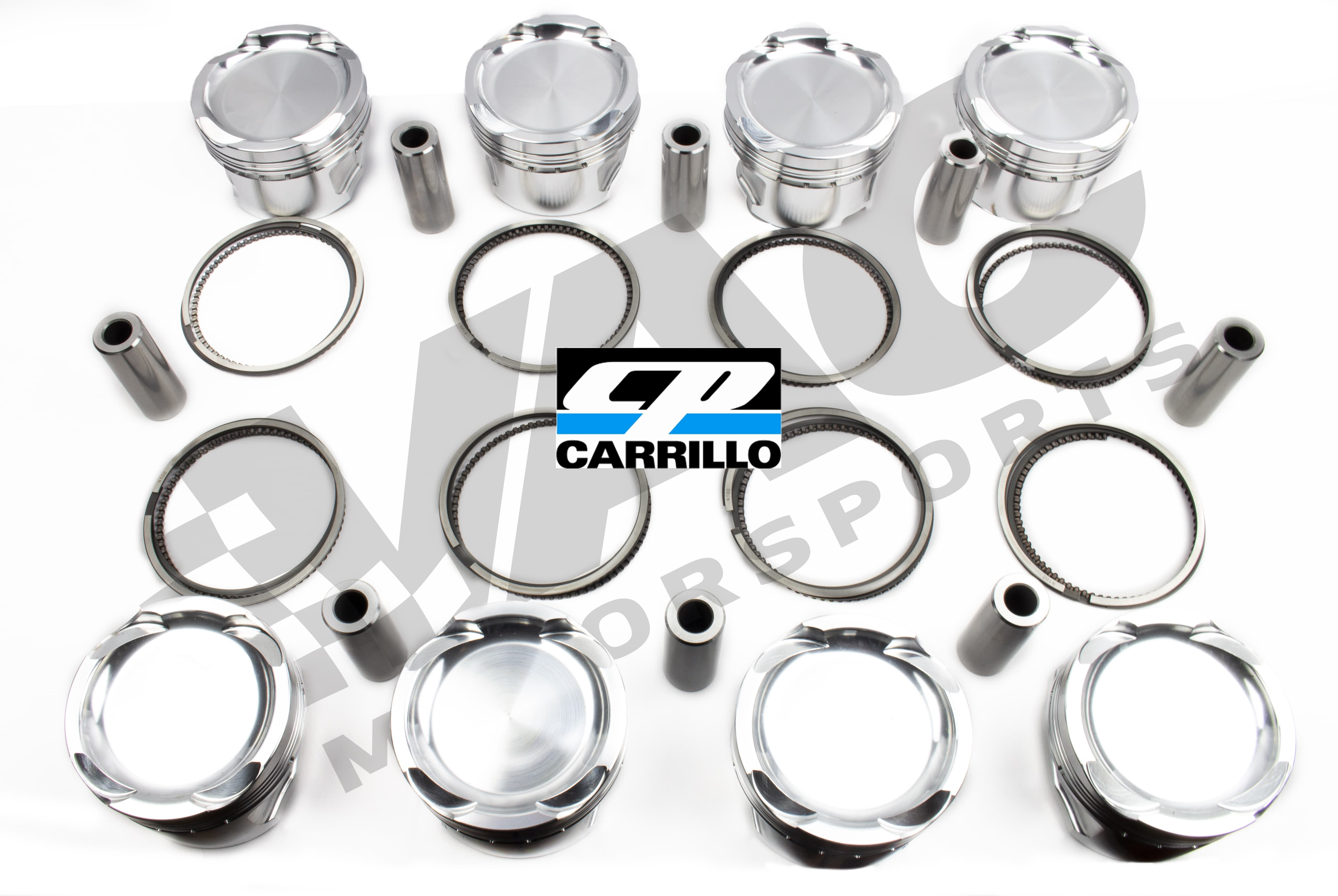 CP-Carrillo Forged Piston Set (Sleeved BMW S65 Stroker) SWATCH