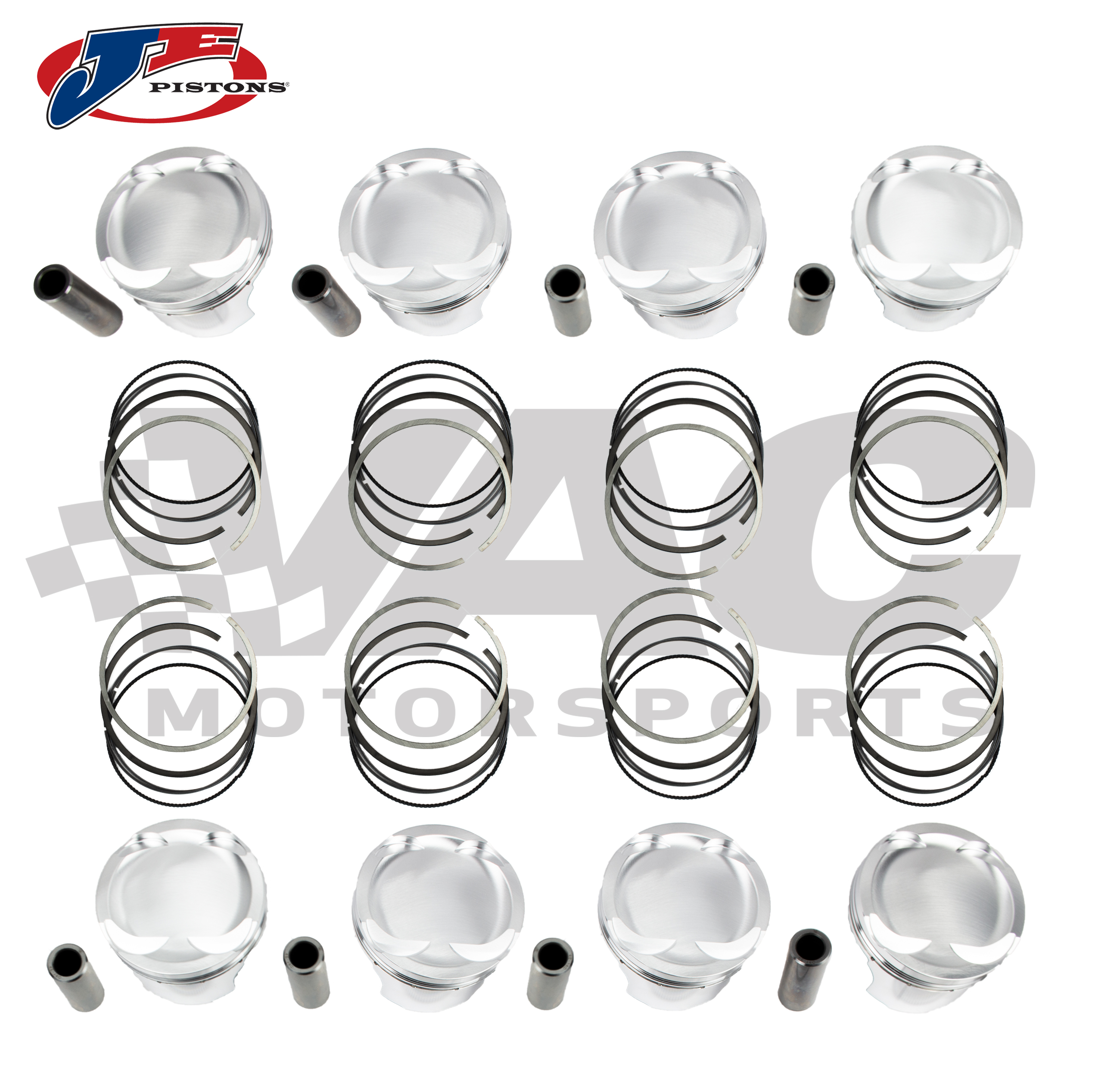 JE Pistons Forged Piston Set (BMW M62) THUMBNAIL