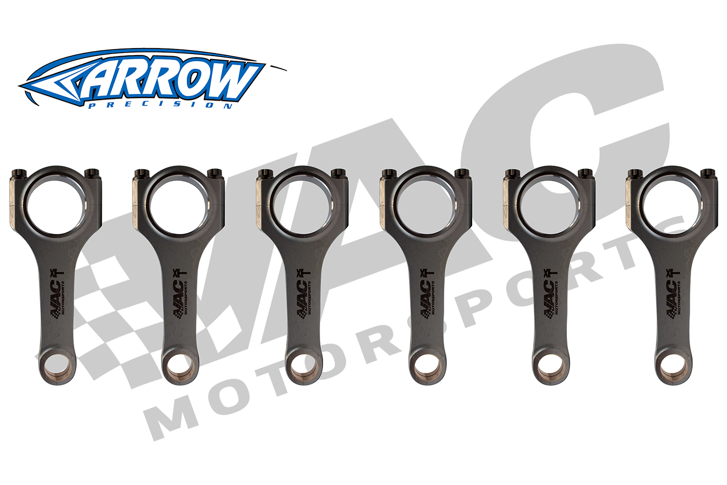 VAC PRO-XTREME Forged Connecting Rods by Arrow, BMW S54 MAIN
