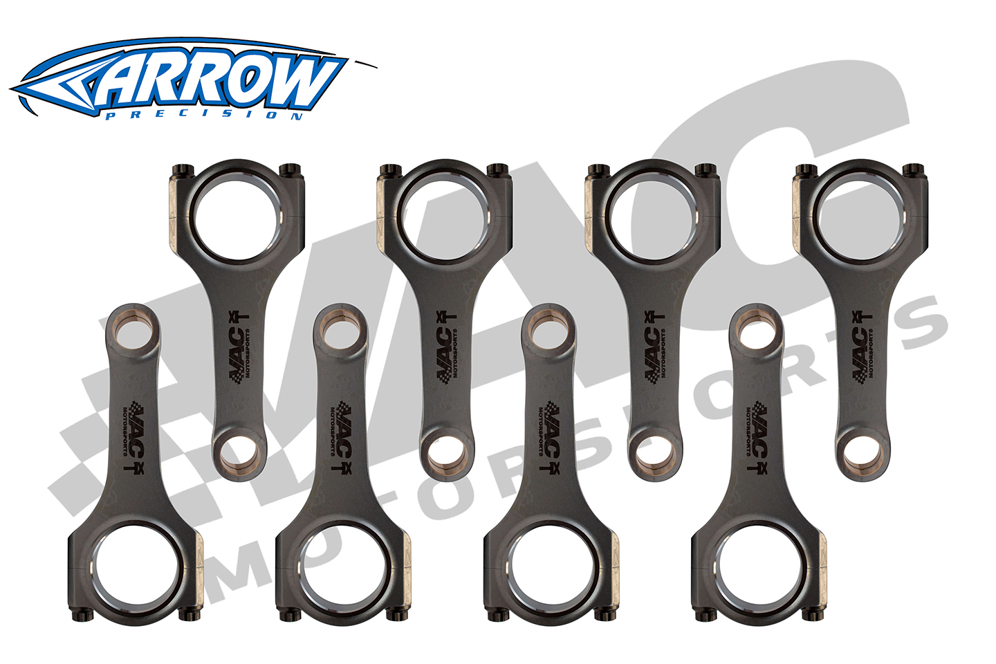 VAC PRO-XTREME Forged Connecting Rods By Arrow, BMW N63/S63 SWATCH