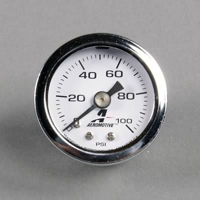 Scion Tc Engine >> Aeromotive - Fuel Pressure Regulator Gauge 1/8th NPT