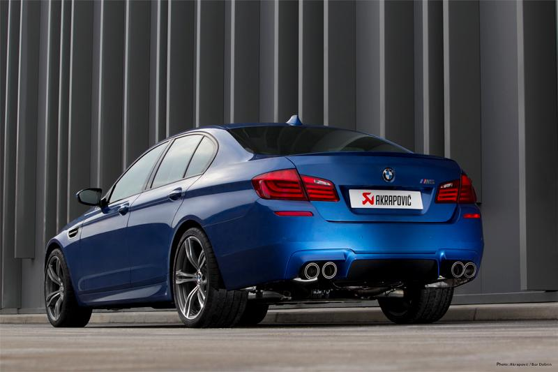 Akrapovic - F10 M5 Exhaust Systems MAIN