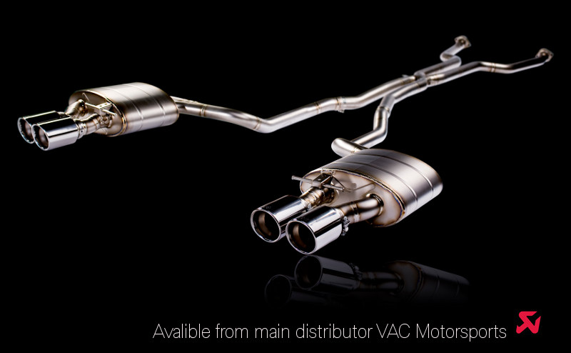 Akrapovic Exhaust Systems BMW M6 (E63/E64)