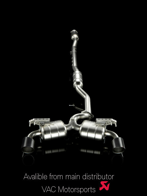 Akrapovic - Mitsubishi Evolution X   Downpipe-back 'Evolution' Exhaust MAIN