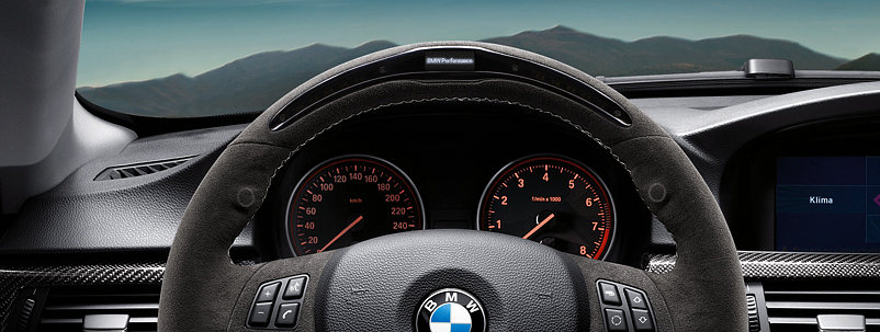 BMW Performance - E8X E9x Performance HUD Steering Wheel