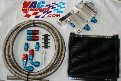 VAC - Billet Racing Oil Cooler Kit