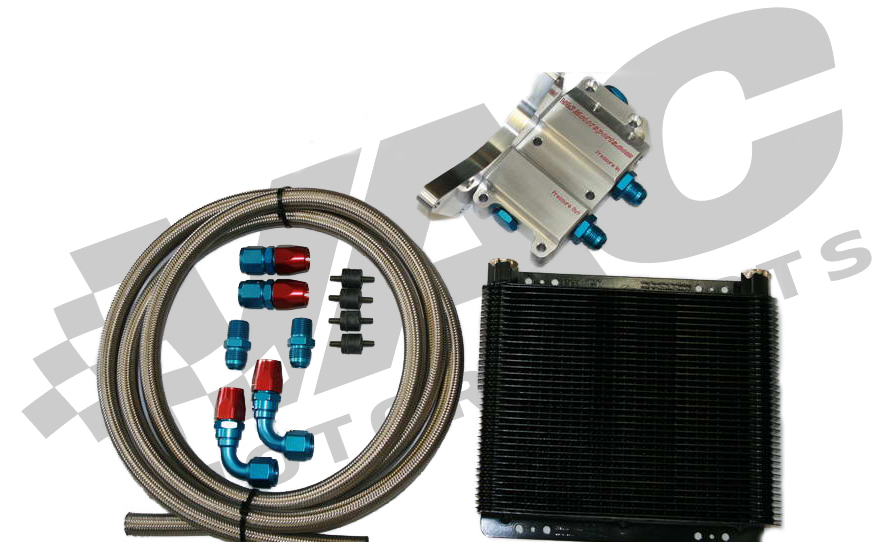 VAC - Billet Racing Oil Cooler Kit THUMBNAIL