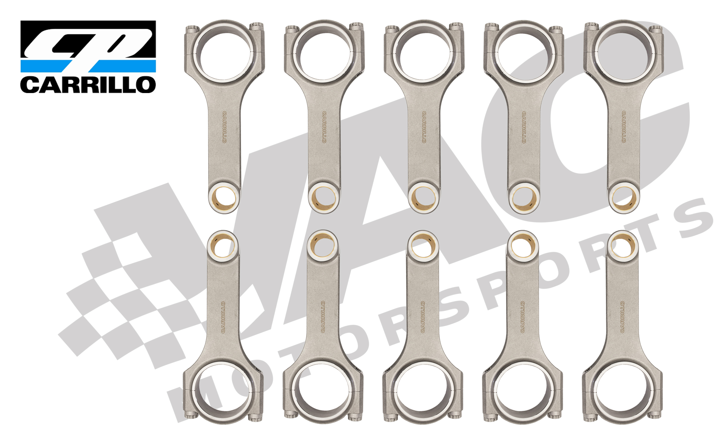 CP-Carrillo Connecting Rod, (BMW S85), Set (10) THUMBNAIL