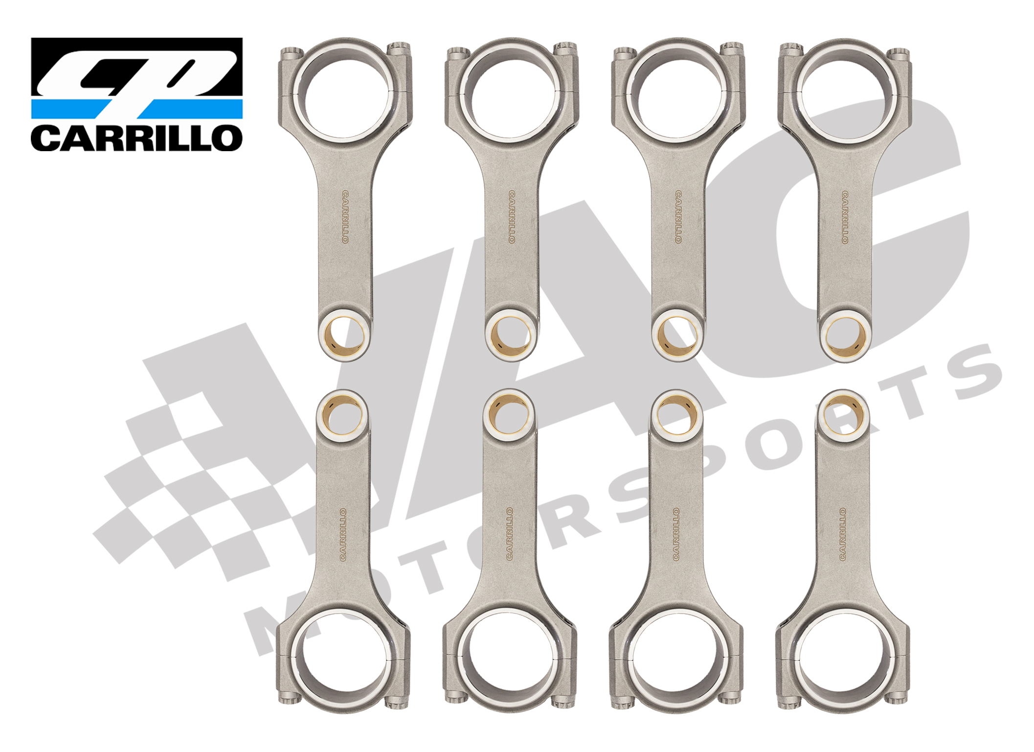 CP-Carrillo Connecting Rod, (BMW S63), Set (8) MAIN
