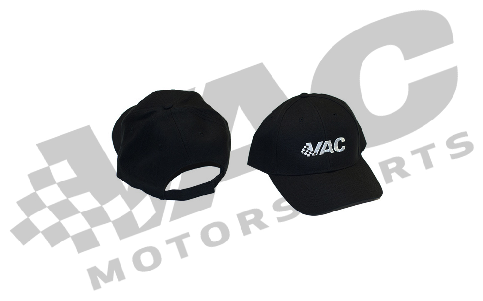 VAC Logo Adjustable Back Hat - Curved Visor THUMBNAIL