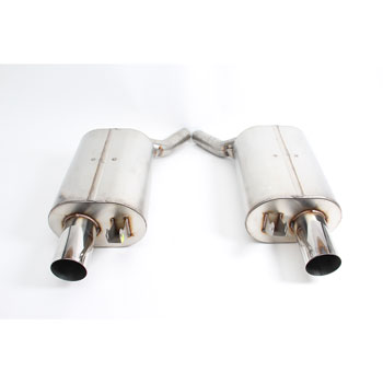 Dinan Free Flow Exhaust for BMW 645Ci E63, E64