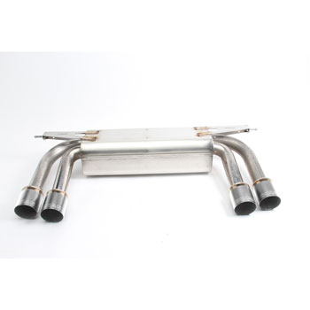 Dinan Free Flow Stainless Exhaust with Polished Tips for BMW X5/X6 M