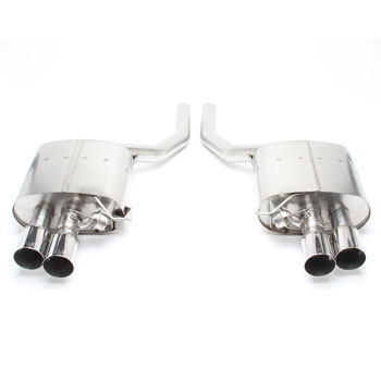 Dinan Free Flow Exhaust with Polished Tips for BMW 550i (N63TU) F10 MAIN