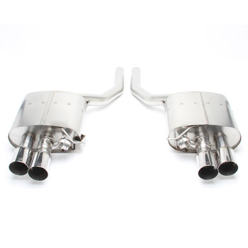 Dinan Free Flow Stainless Exhaust with Polished Tips for BMW N63tu powered F01/F02 MAIN