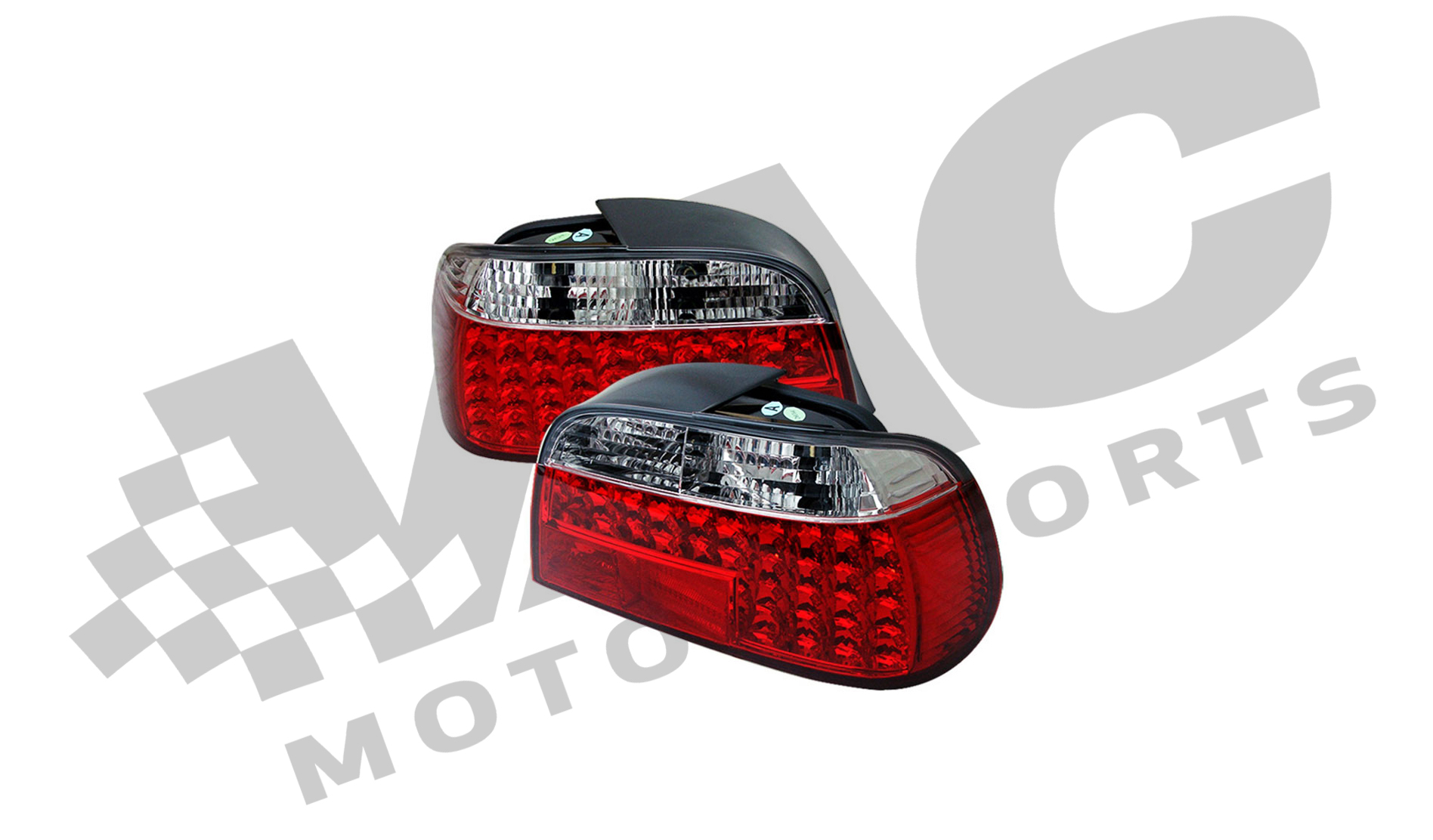 Clear Tail Lamp Assembly (BMW E38) Left Side THUMBNAIL