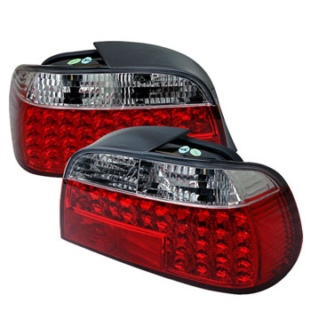 Clear Tail Lamp Assembly (BMW E38) Left Side MAIN