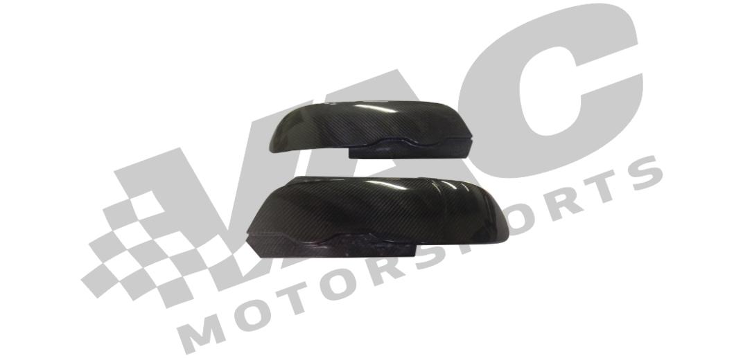 RHR Performance Carbon Fiber Headlight Blanks (BMW E46) MAIN