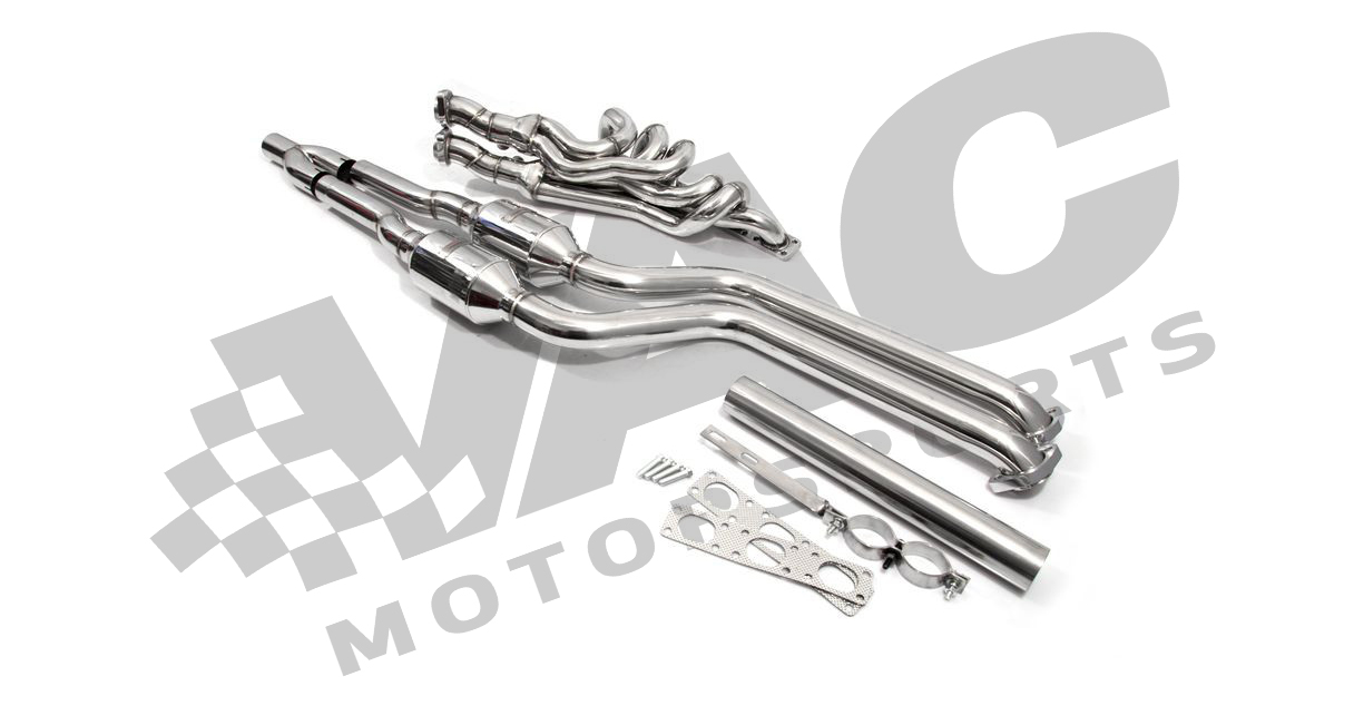E46 non-M Complete Header & High Flow Sport Cat Package THUMBNAIL