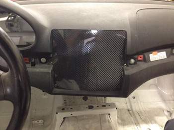 Aj Hartman Aero Carbon Fiber Dash Panel For Bmw E46