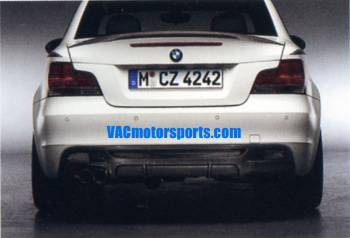 BMW Performance - E82 Rear Carbon Diffuser Kit_MAIN