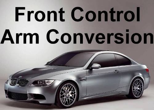 BMW, E9X, E8X, Motorsport Front Control Arm Conversion