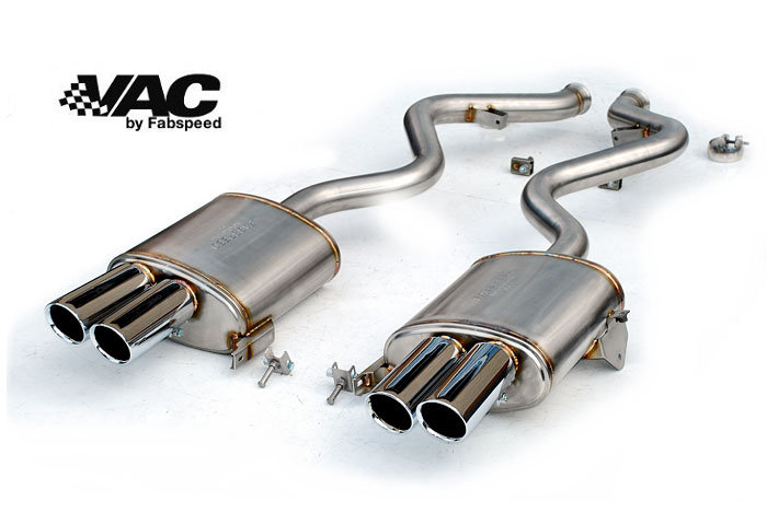 BMW E9X M3 Rear Exhaust System by Fabspeed MAIN