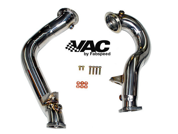BMW N54 Catbypass Downpipes by Fabspeed MAIN