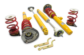 Ground Control Coilover Suspension kit, Street & Touring (BMW E46) All non-M MAIN