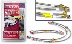 G-STOP E46 M3 Stainless Steel Brakeline Kit by Goodridge MAIN