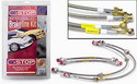 G-STOP Spec E46 Stainless Steel Brakeline Kit by Goodridge (non M)