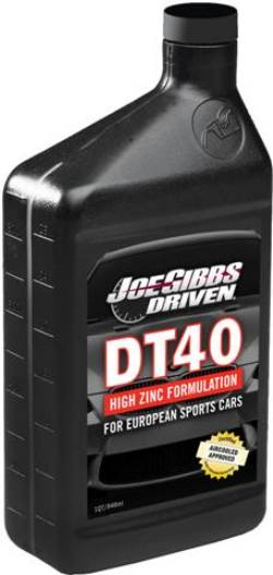 Joe Gibbs Driven DT40 (5W-40) Max Performance Synthetic Engine Oil MAIN