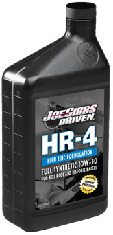 Joe Gibbs Driven HR4 (10W-30) Max Performance Synthetic Engine Oil