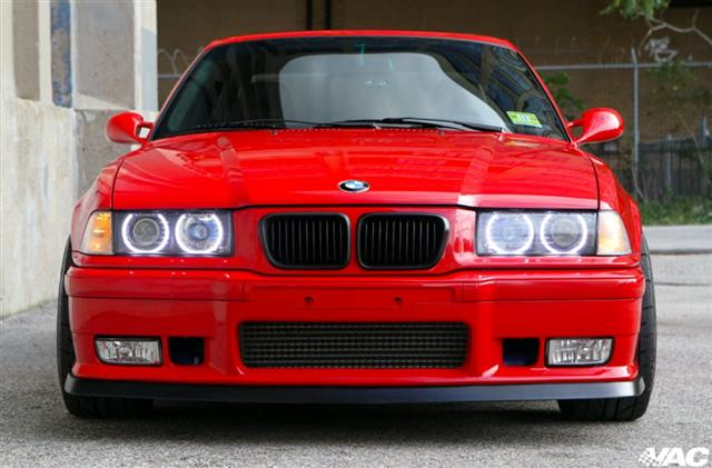 VAC - E36 ' Super ZKW ' Front Euro Projector Headlights W/ Angel Eyes MAIN