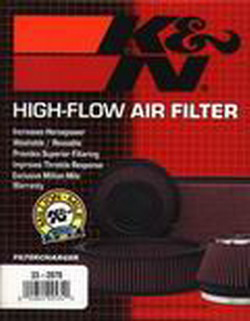 K&N Air Filter, fits M5, M6 -'89, 524td EURO MAIN