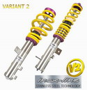 KW - BMW E39 5 Series, Variant 2 Coilover Kit Wagon w/ Air Suspension on Rear Axle ('97-)