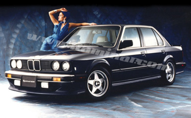 Kaminari Front Air Dam for BMW E30