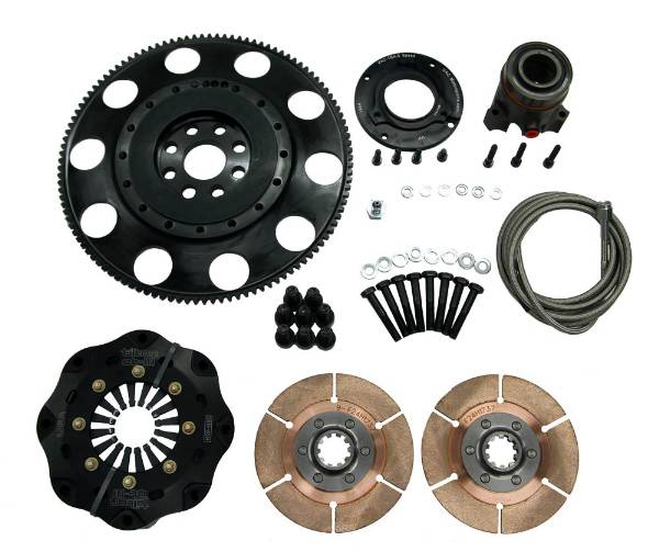 VAC Clutch and Lightweight Steel Flywheel Kit (BMW S65)