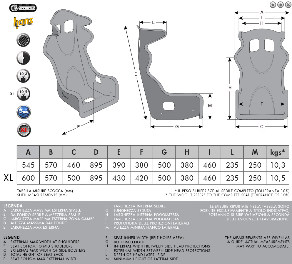 MOMO - Lesmo One Race Seat SWATCH