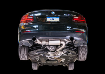 BMW F22 M235I EXHAUST AWE TUNING MAIN