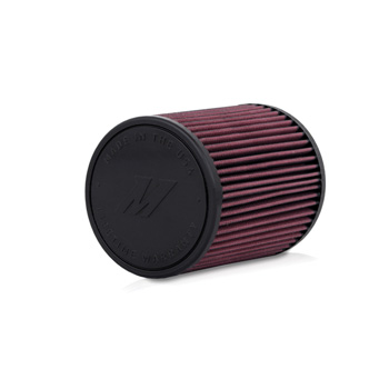 "Mishimoto Performance Air Filter, 2.75"" Inlet, 7"" Filter Length"