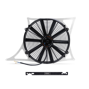 Mishimoto BMW E46 M3 Performance Aluminum Fan Shroud Kit MAIN