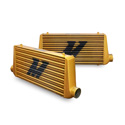 Mishimoto Universal Intercooler M-Line Eat Sleep Race Edition, All Gold THUMBNAIL