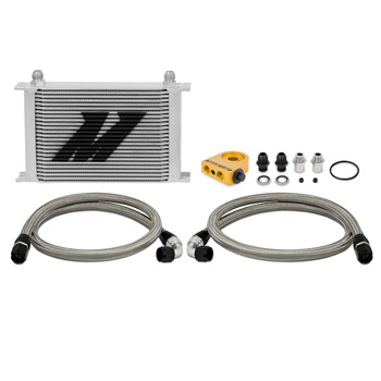 Mishimoto Universal Thermostatic 25 Row Oil Cooler Kit MAIN
